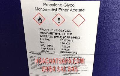 Propylene Glycol Monomethyl Ether Acetate PMA solvent