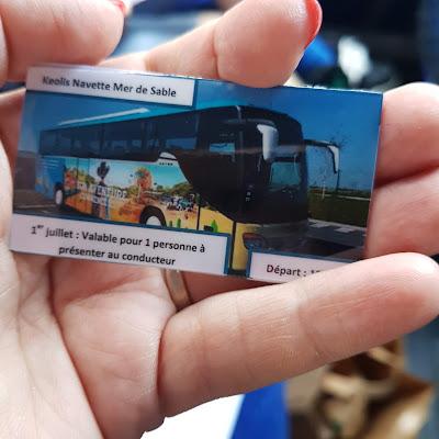 Ticket de navette