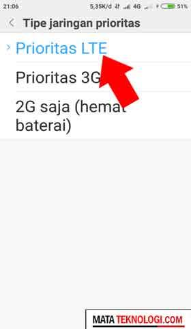 jaringan 4g telkomsel hilang