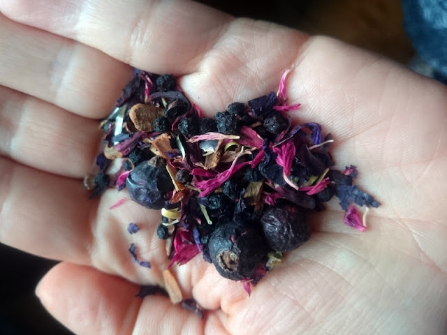 Bluebird Tea Co Brighton Sugar Plum tea