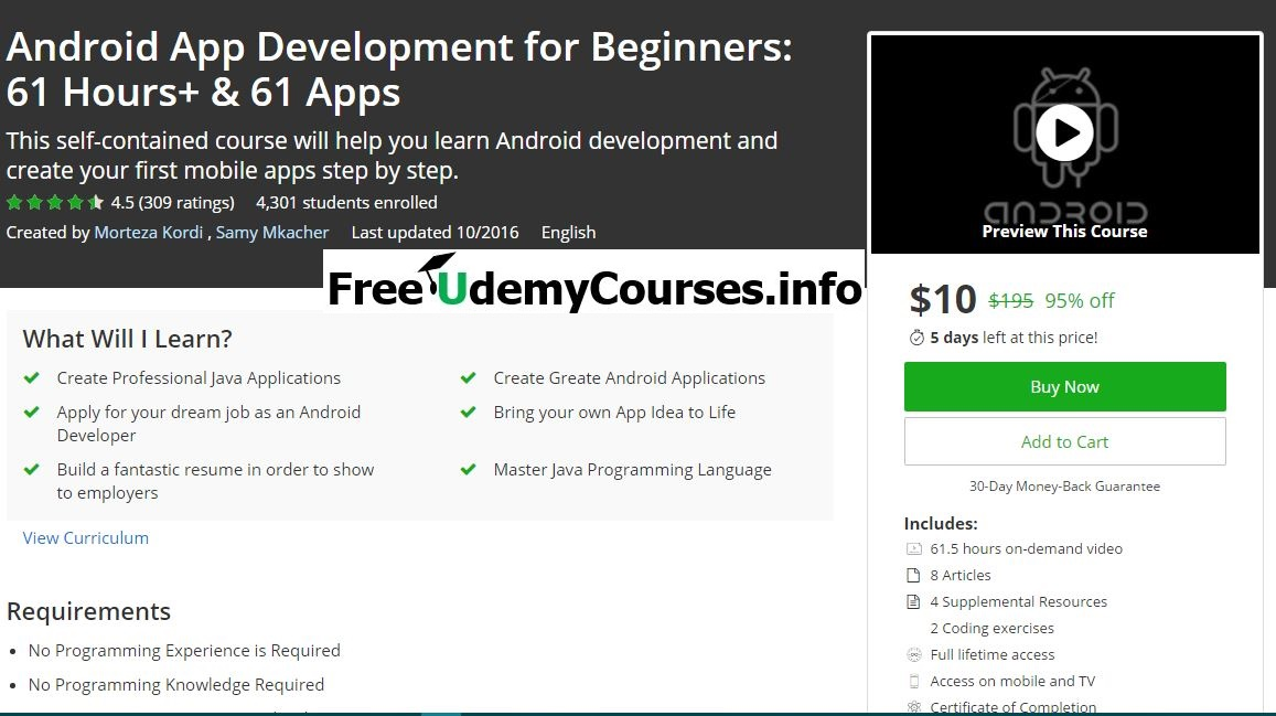 beginners guide to android development