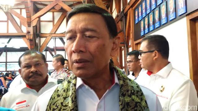 Wiranto Minta Kasus Pembakaran Bendera Tidak Terus Diributkan