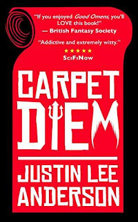 Carpet Diem - hilarious urban fantasy from Justin Lee Anderson