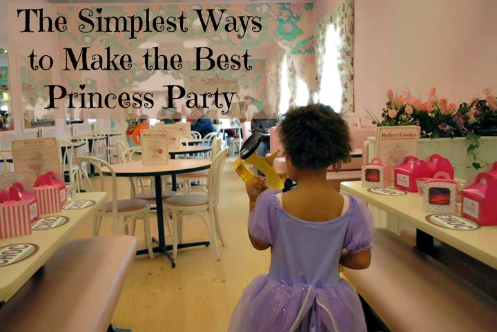 The Simplest Ways to Make the Best Princess Party {free printables}