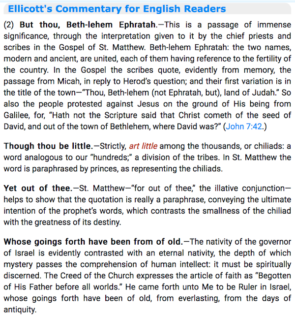 Micah 5:5 Ellicott's Commentary for English Readers