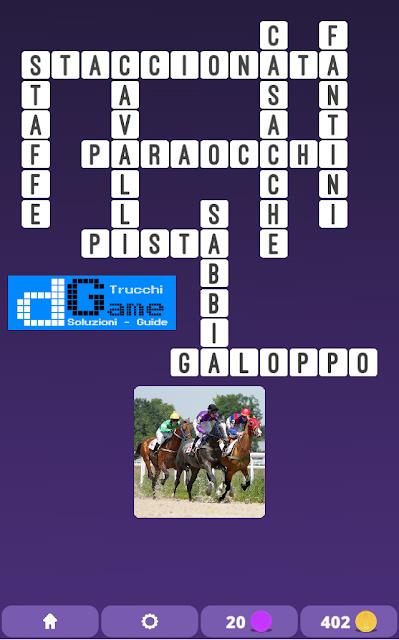 Soluzioni One Clue Crossword livello 4 schemi 10 (Cruciverba illustrato)  | Parole e foto