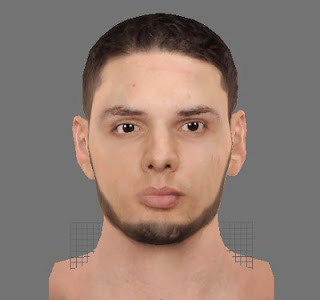 NBA2K13 Evan Fournier Cyber Face Patch