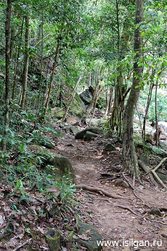 Водопад Клонг Плу (Klong Plu Waterfall). Остров Ко Чанг. Таиланд