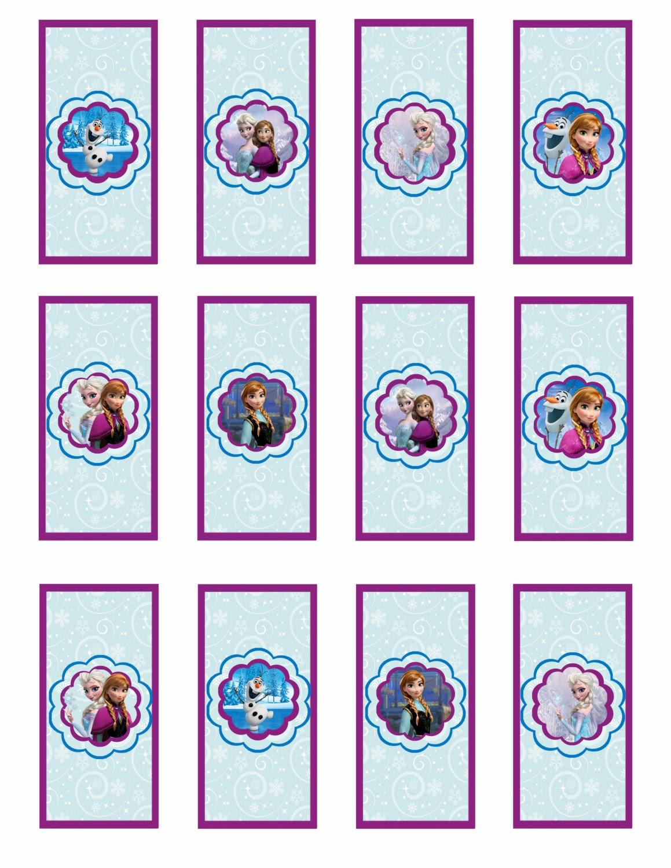 Frozen: Etiquetas para Imprimir Gratis. | Ideas y material gratis ...