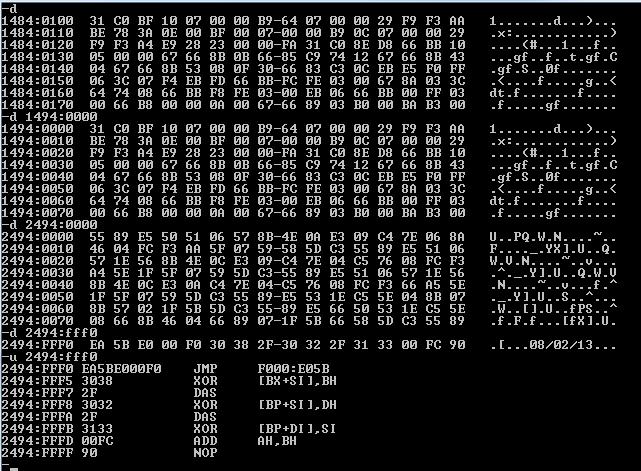 Count Chu: Use Bochs to Lean BIOS Entry Point