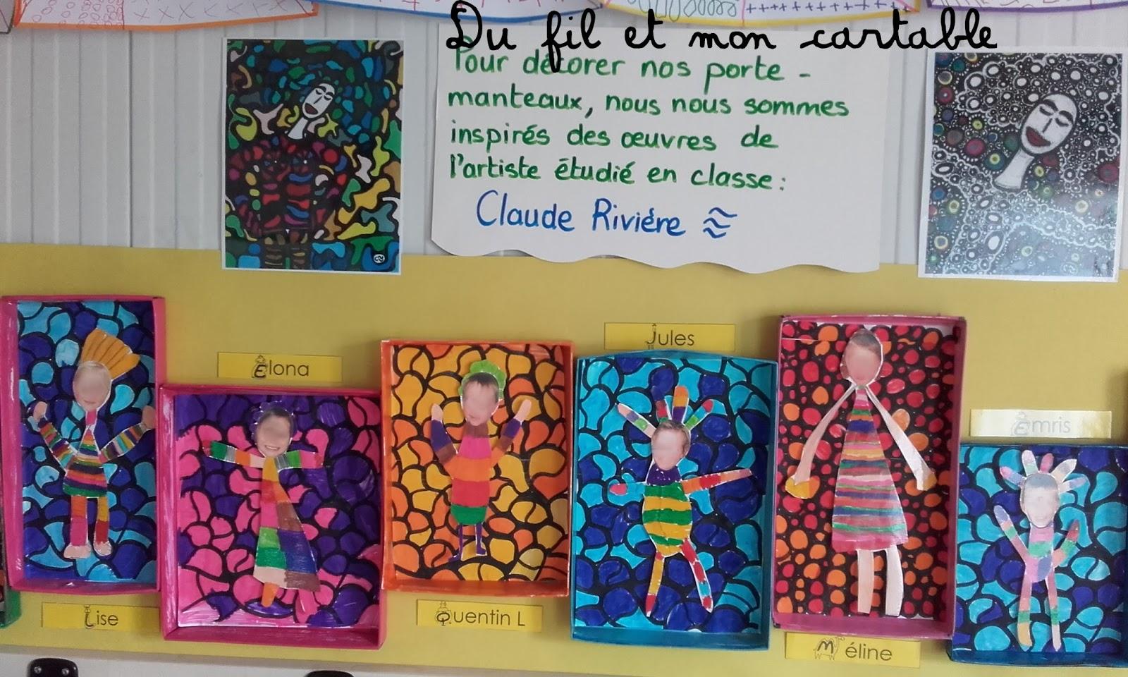 Et Fil Manteaux Du Claude Mon CartablePorte Rivière QBtrdCxhso