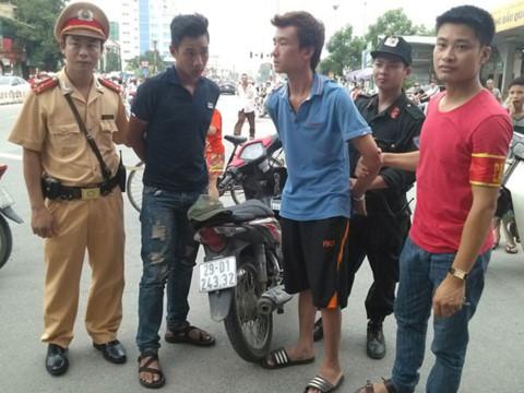 Lực lượng 141 bắt giữ tội phạm. Nguồn ảnh: An ninh thủ đô