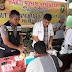 Sambut HUT Bhayangkara Ke-72, Polres Aceh Timur Beri Pelayanan Kesehatan Gratis Kepada Masyarkat Peureulak