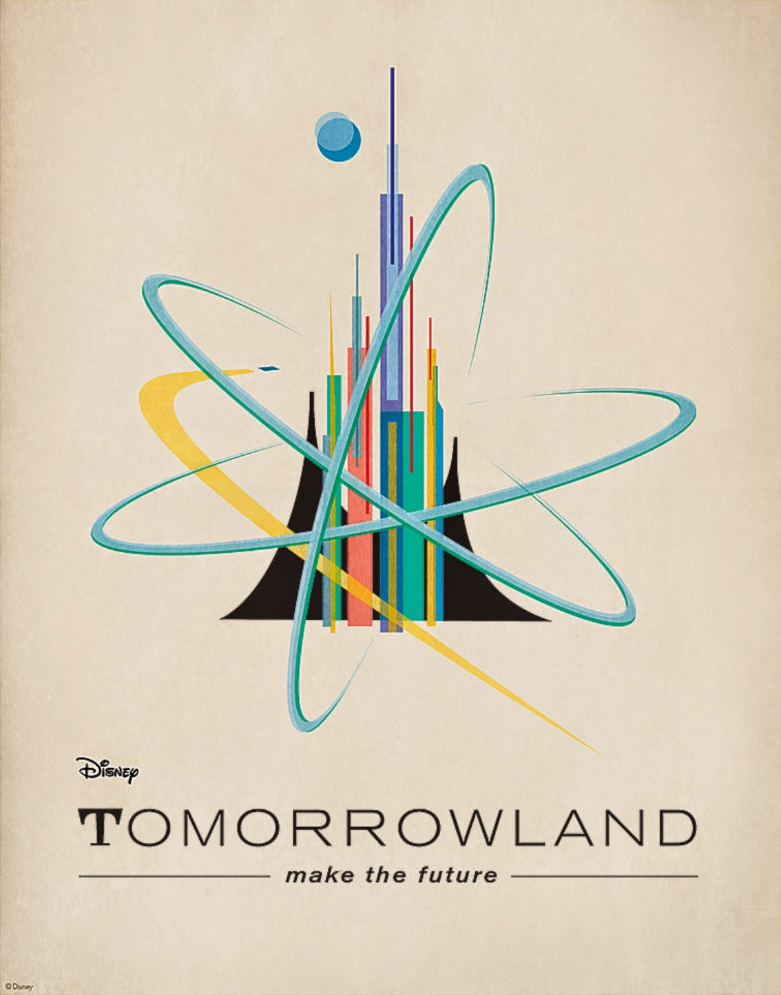 The Geeky Nerfherder: Cool Art: Retro Style Disney \'Tomorrowland ...