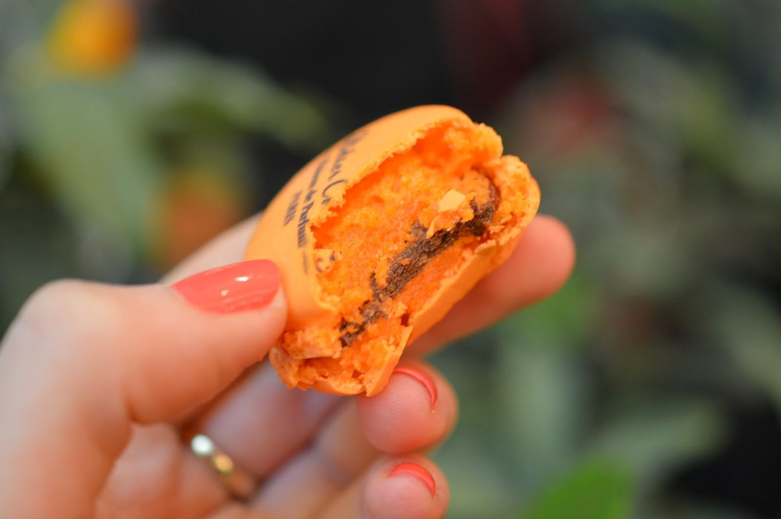 Chocolate Orange Macaron