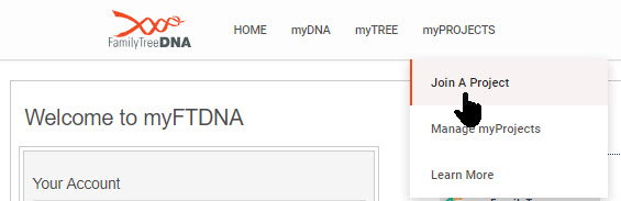 Join a Y-DNA Project