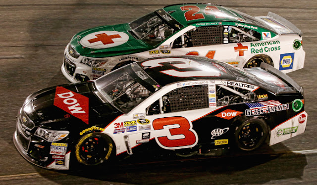 Austin Dillon and Chase Elliott