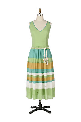 Anthropologie Horizon Line Dress