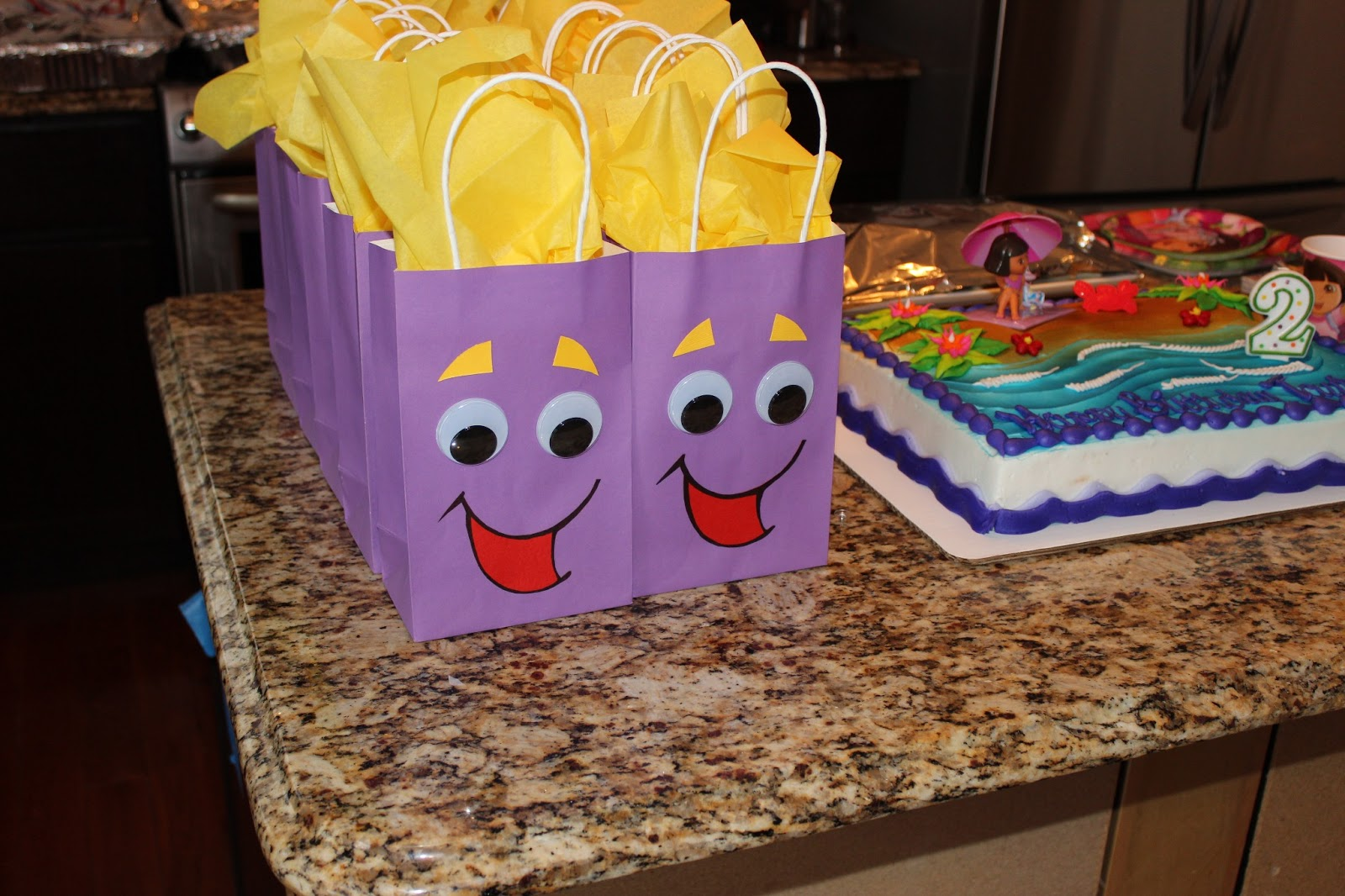Dora The Explorer 2nd Birthday Party Mommy Hot Spot