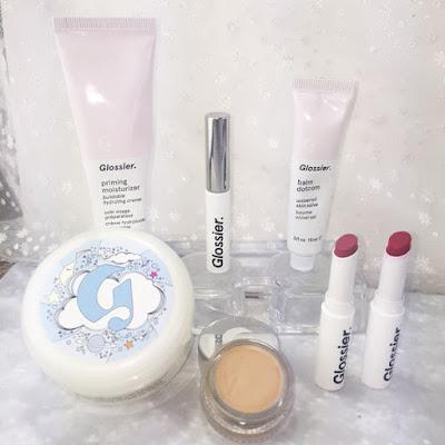 primer, face mask, lips, brows, concealer