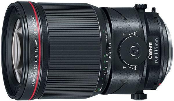 Canon TS-E 135mm f/4L