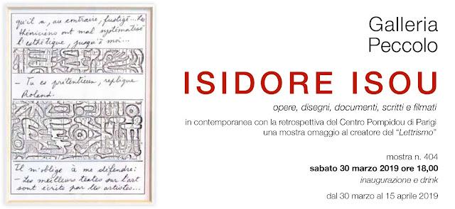 invito Isidore ISOU