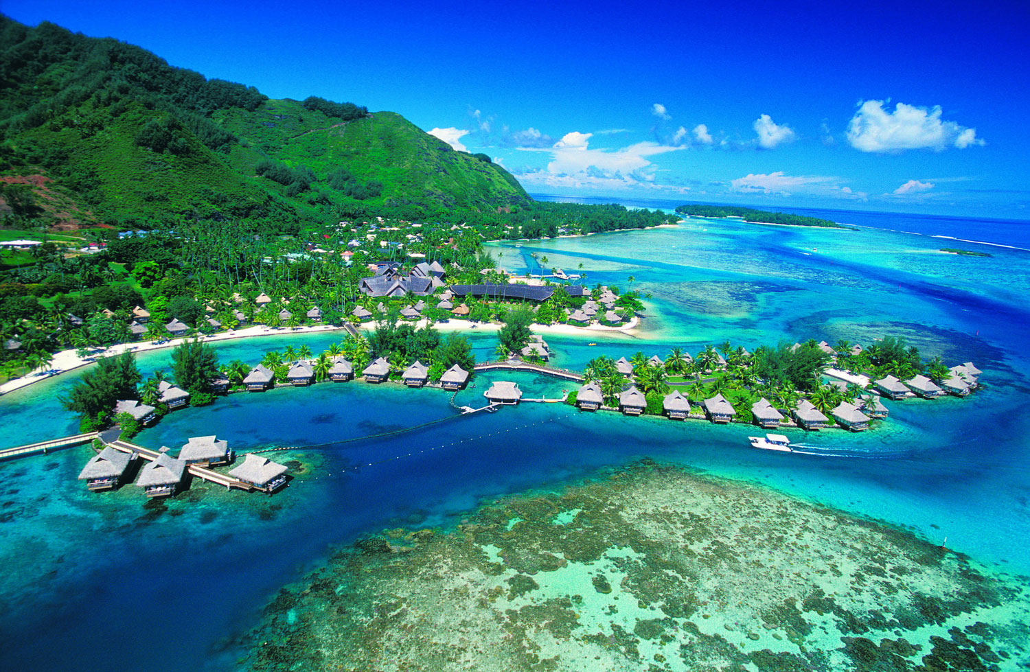 Tahiti Bora Paradise Luxury Accomodation Best Hotels Beach Huts Holiday Resort