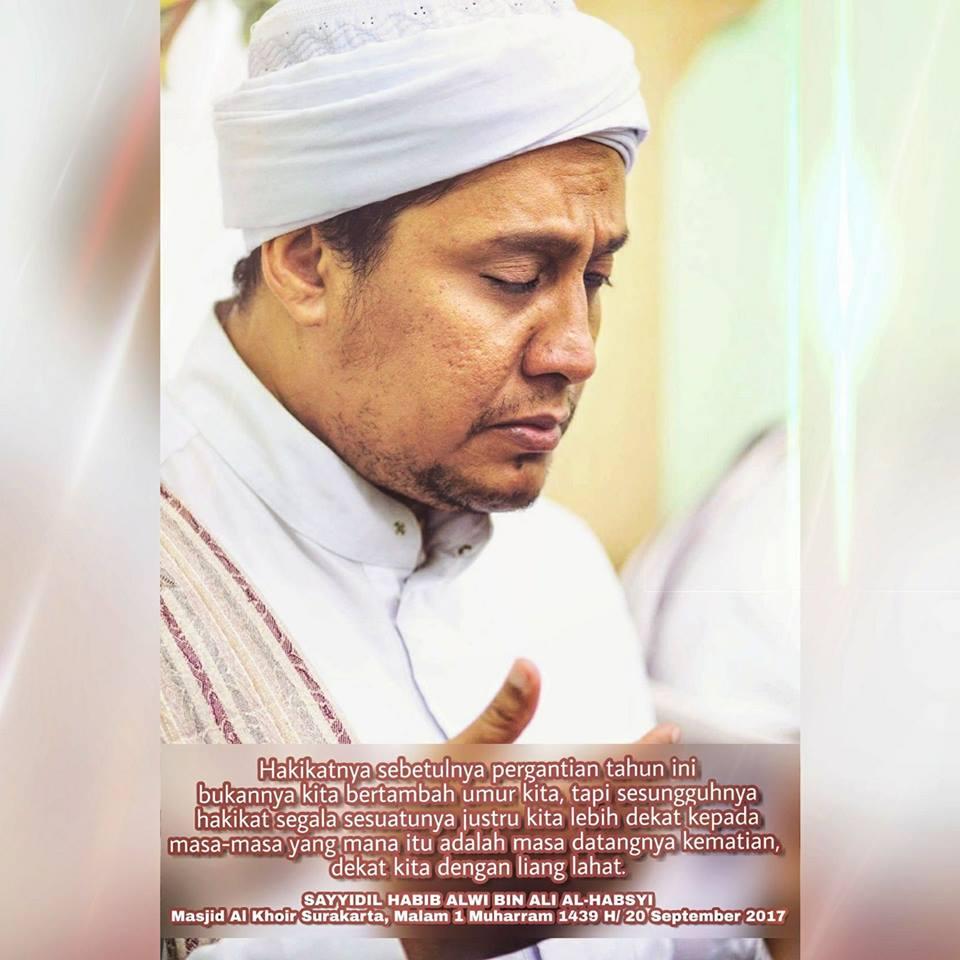 Kata Mutiara Nasehat Dari SAYYIDIL HABIB ALWI BIN ALI AL HABSYI