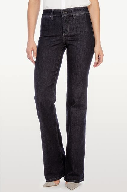 SABELLA TROUSER IN PREMIUM LIGHTWEIGHT DENIM - EXTRA LONG