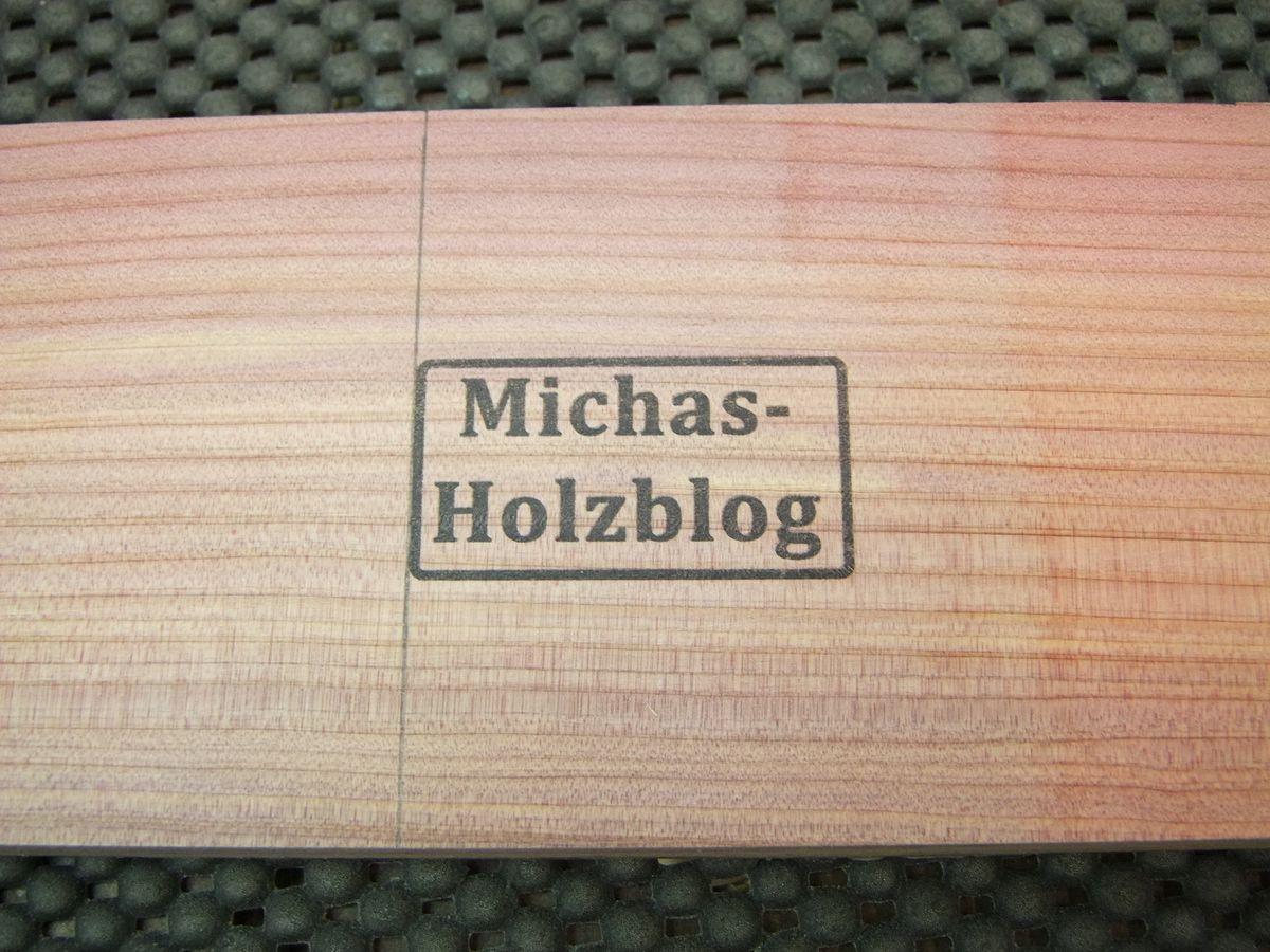 Michas Holzblog Bedrucken Von Holz Mit Einfachen Mitteln