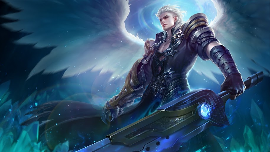 Alucard Child Of The Fall Skin Mobile Legends 4k Wallpaper 38