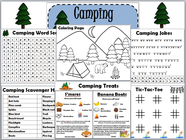 Empowered By THEM: Camping Fun Pack