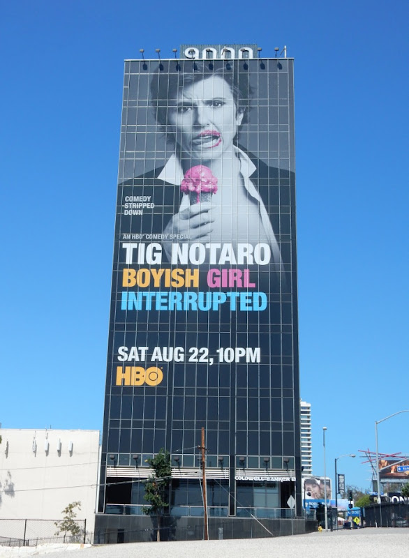 Tig Notaro Boyish Girl Interrupted comedy special billboard