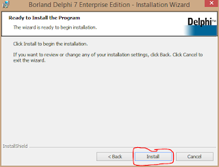 Cara Install Delphi 7 di Windows 8 10