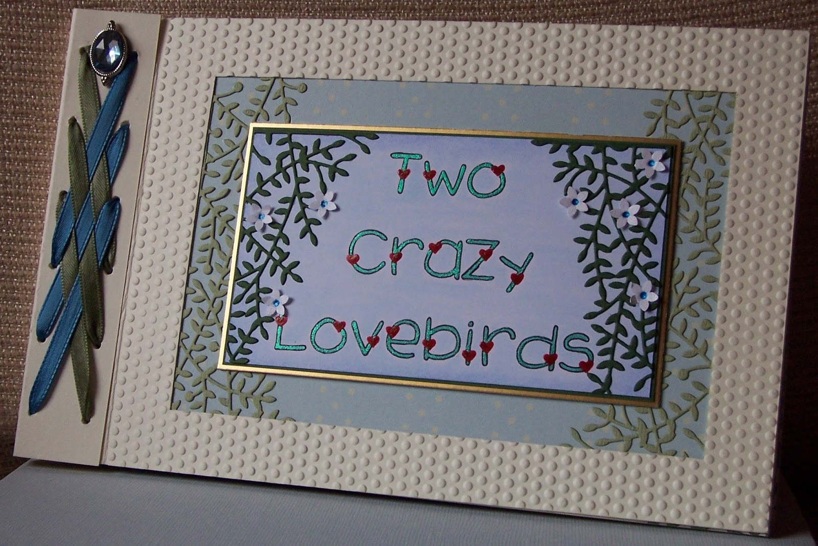 whitch craft engagement card or book for my son alex and phoebe