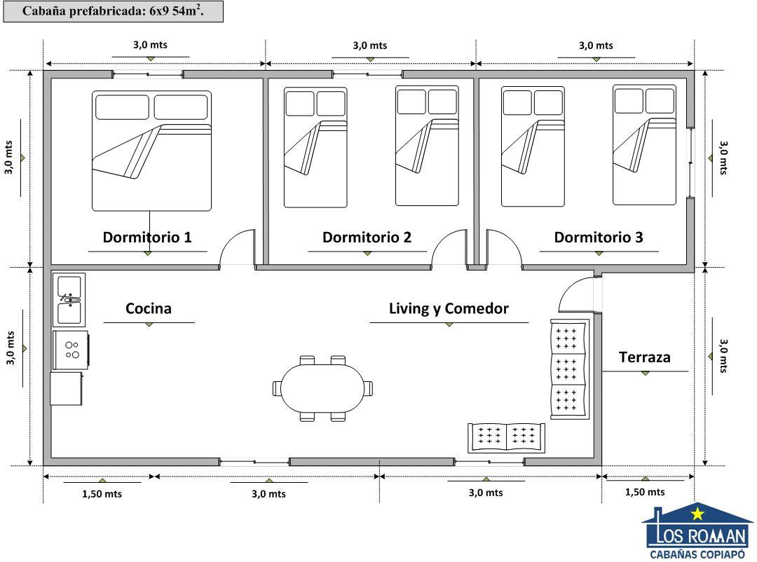 Planos De Casas 6 X 9