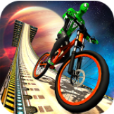 Impossible BMX Bicycle Superhero Sky Tracks Rider Apk - Free Download Android Game
