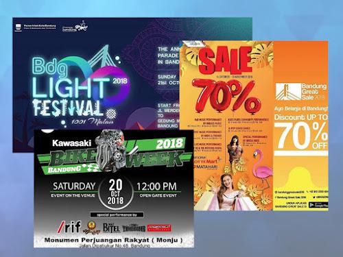 Event HUT Kota Bandung ke-208