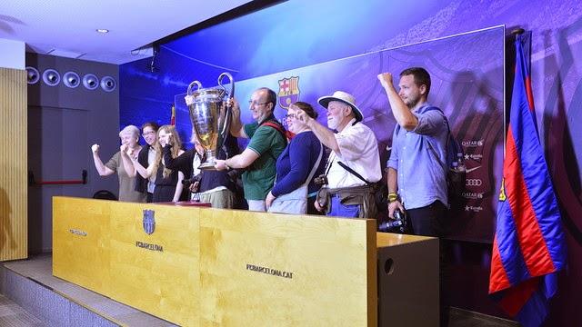 El Barça abre el Camp Nou a importantes bloggeros internacionales