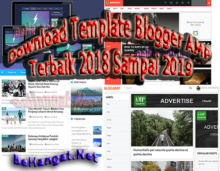 Download Template Blogger AMP Terbaik 2018 Sampai 2019 - BeHangat.net