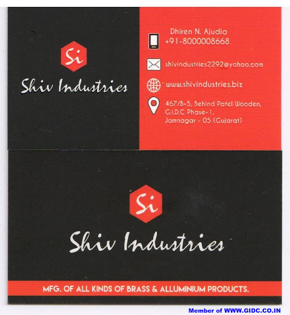 SHIV INDUSTRIES - 8000008668 Manufacturer of Brass & Aluminium Parts