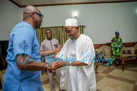 Again, Fayose In Another Secret Meeting With Aregbesola
