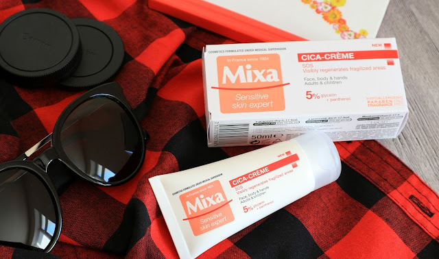 Mixa Cica-Creme Восстанавливающий SOS крем для лица, рук и тела