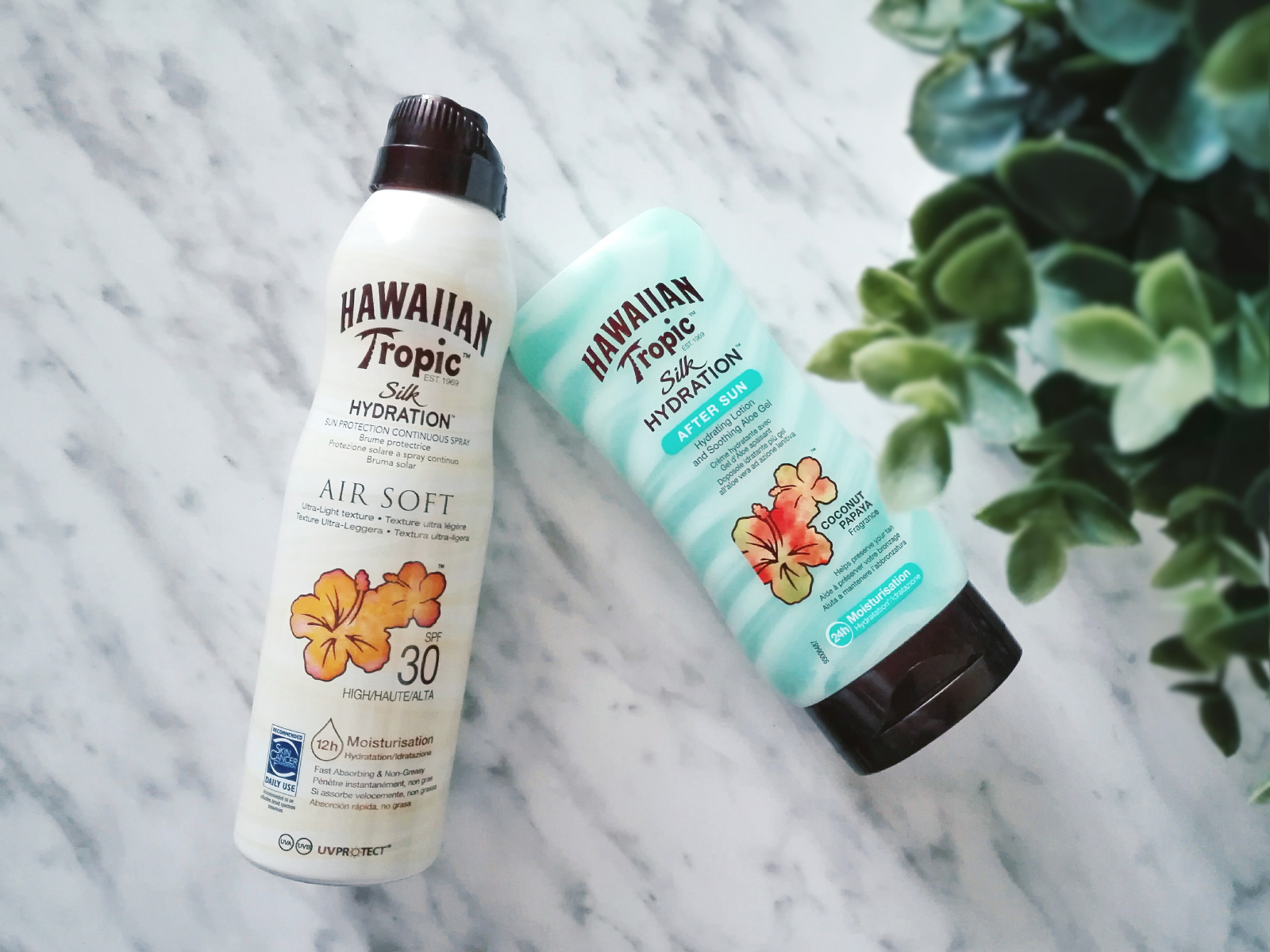 Hawaiian Tropic Silk Hydration Air Soft 30 After Sun #alohatherapy #hawaiiantropic beauty blog review protector solar SPF