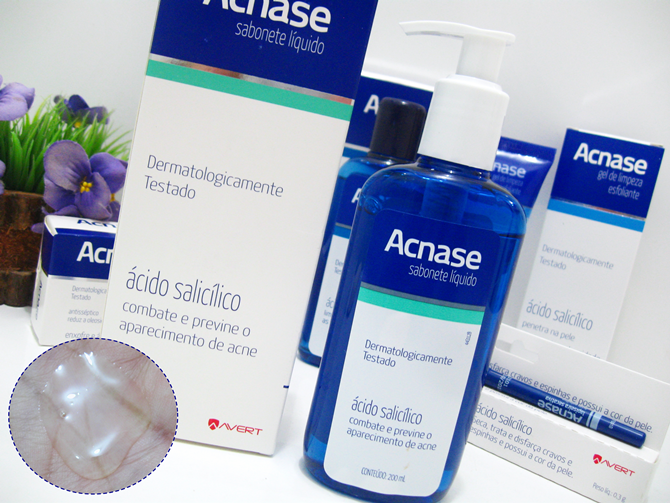 Sabonete Líquido Facial Acnase