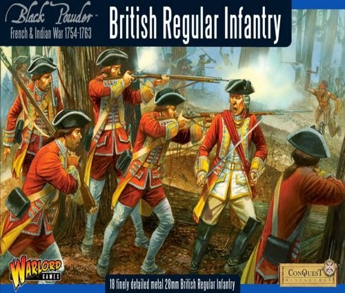 Painting French Indian War British