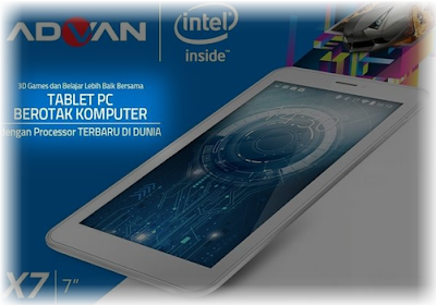 Advan X7-Tablet Murah Ram 1GB 700 Ribuan April 2016