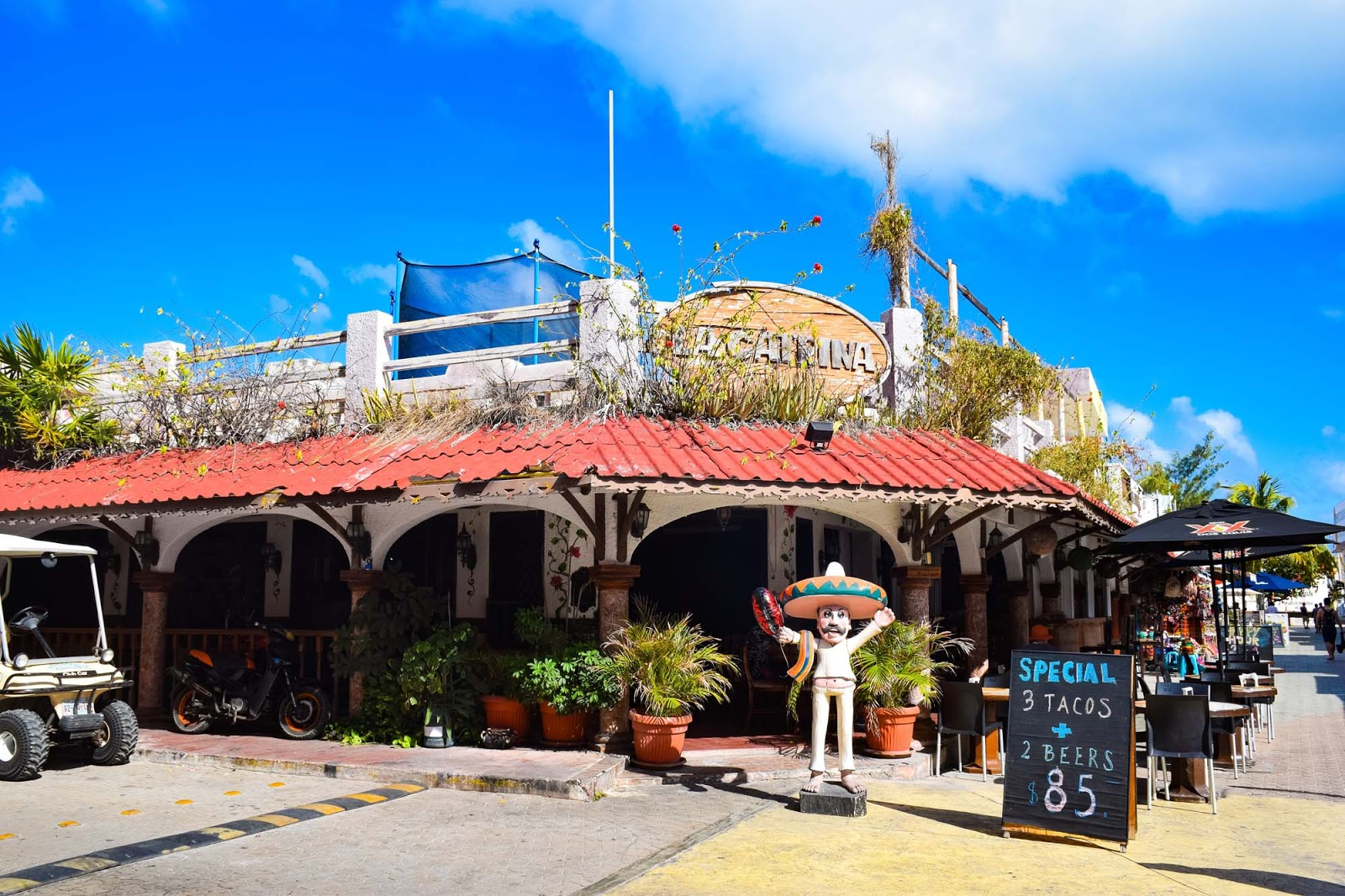 restaurant on isla mujeres
