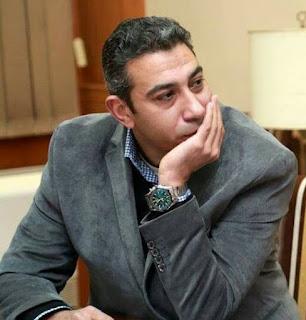 الكاتب الصحفى حاتم جمال