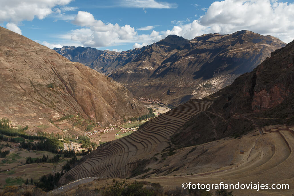terrazas de cultivo inca en Pisac